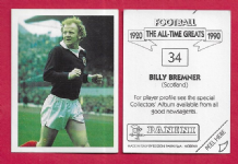 Scotland Billy Bremner Leeds United 34